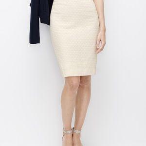 NWOT Ann Taylor Sz 8 polka dot pencil skirt